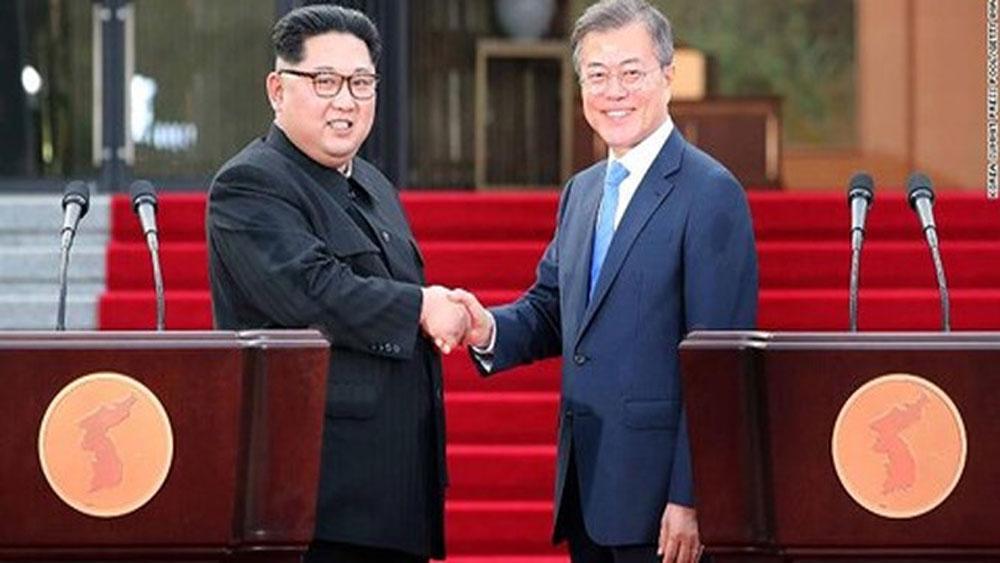 Hàn Quốc cam kết nỗ lực cùng Triều Tiên xây dựng hòa bình bền vững
